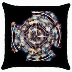 Science Fiction Background Fantasy Throw Pillow Case (Black)