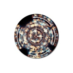 Science Fiction Background Fantasy Magnet 3  (Round)