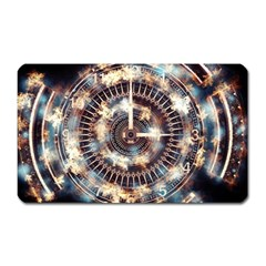 Science Fiction Background Fantasy Magnet (Rectangular)