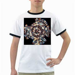Science Fiction Background Fantasy Ringer T-Shirts