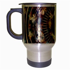 Science Fiction Background Fantasy Travel Mug (Silver Gray)