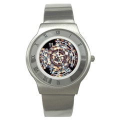 Science Fiction Background Fantasy Stainless Steel Watch