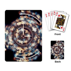 Science Fiction Background Fantasy Playing Card