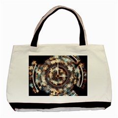 Science Fiction Background Fantasy Basic Tote Bag (Two Sides)