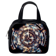 Science Fiction Background Fantasy Classic Handbags (One Side)
