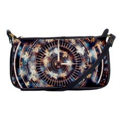 Science Fiction Background Fantasy Shoulder Clutch Bags