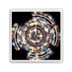 Science Fiction Background Fantasy Memory Card Reader (square)