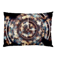 Science Fiction Background Fantasy Pillow Case (two Sides)