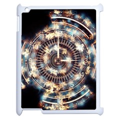 Science Fiction Background Fantasy Apple Ipad 2 Case (white)