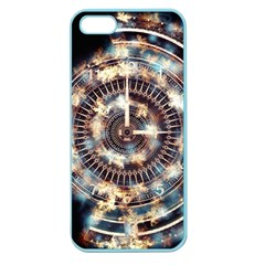 Science Fiction Background Fantasy Apple Seamless iPhone 5 Case (Color)