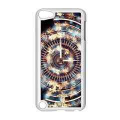 Science Fiction Background Fantasy Apple iPod Touch 5 Case (White)