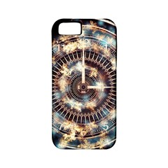 Science Fiction Background Fantasy Apple iPhone 5 Classic Hardshell Case (PC+Silicone)