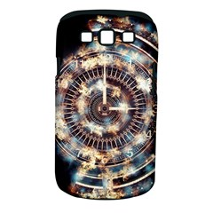 Science Fiction Background Fantasy Samsung Galaxy S III Classic Hardshell Case (PC+Silicone)