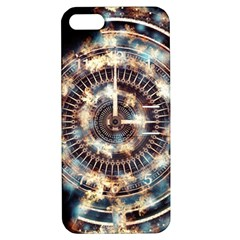 Science Fiction Background Fantasy Apple iPhone 5 Hardshell Case with Stand