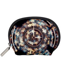 Science Fiction Background Fantasy Accessory Pouches (Small)