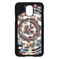 Science Fiction Background Fantasy Samsung Galaxy S5 Case (Black)