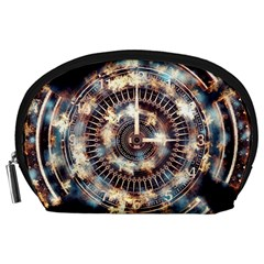 Science Fiction Background Fantasy Accessory Pouches (large)