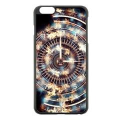 Science Fiction Background Fantasy Apple Iphone 6 Plus/6s Plus Black Enamel Case