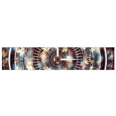Science Fiction Background Fantasy Flano Scarf (Small)