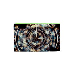 Science Fiction Background Fantasy Cosmetic Bag (XS)