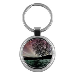 Sky Landscape Nature Clouds Key Chains (round)