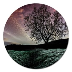 Sky Landscape Nature Clouds Magnet 5  (Round)