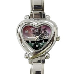 Sky Landscape Nature Clouds Heart Italian Charm Watch