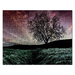 Sky Landscape Nature Clouds Rectangular Jigsaw Puzzl