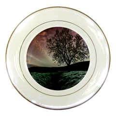 Sky Landscape Nature Clouds Porcelain Plates