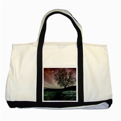 Sky Landscape Nature Clouds Two Tone Tote Bag