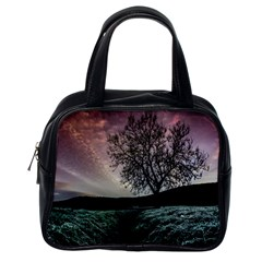 Sky Landscape Nature Clouds Classic Handbags (One Side)