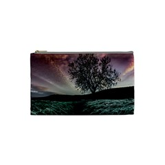 Sky Landscape Nature Clouds Cosmetic Bag (Small)