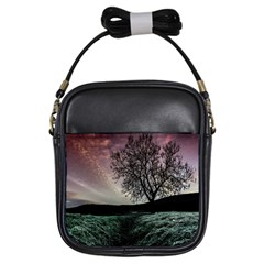 Sky Landscape Nature Clouds Girls Sling Bags