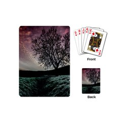 Sky Landscape Nature Clouds Playing Cards (mini)