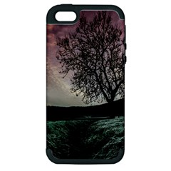Sky Landscape Nature Clouds Apple iPhone 5 Hardshell Case (PC+Silicone)