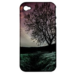 Sky Landscape Nature Clouds Apple iPhone 4/4S Hardshell Case (PC+Silicone)