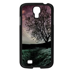 Sky Landscape Nature Clouds Samsung Galaxy S4 I9500/ I9505 Case (Black)