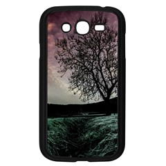 Sky Landscape Nature Clouds Samsung Galaxy Grand DUOS I9082 Case (Black)
