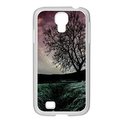 Sky Landscape Nature Clouds Samsung GALAXY S4 I9500/ I9505 Case (White)
