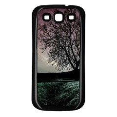 Sky Landscape Nature Clouds Samsung Galaxy S3 Back Case (Black)