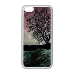 Sky Landscape Nature Clouds Apple iPhone 5C Seamless Case (White)