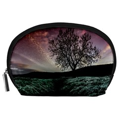 Sky Landscape Nature Clouds Accessory Pouches (Large)
