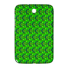 Green Abstract Art Circles Swirls Stars Samsung Galaxy Note 8.0 N5100 Hardshell Case