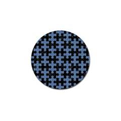 PUZ1 BK-MRBL BL-DENM Golf Ball Marker
