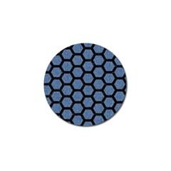HXG2 BK-MRBL BL-DENM (R) Golf Ball Marker