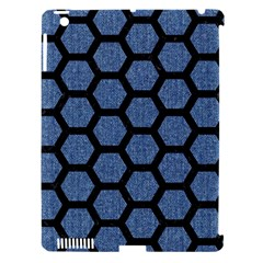 HXG2 BK-MRBL BL-DENM (R) Apple iPad 3/4 Hardshell Case (Compatible with Smart Cover)