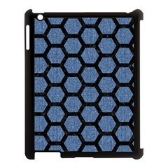HXG2 BK-MRBL BL-DENM (R) Apple iPad 3/4 Case (Black)
