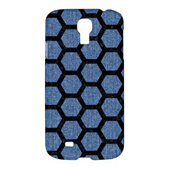HXG2 BK-MRBL BL-DENM (R) Samsung Galaxy S4 I9500/I9505 Hardshell Case