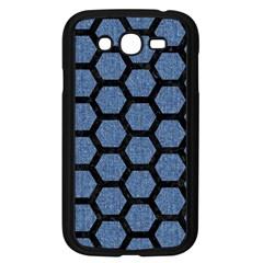 HXG2 BK-MRBL BL-DENM (R) Samsung Galaxy Grand DUOS I9082 Case (Black)