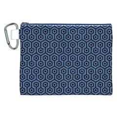 HXG1 BK-MRBL BL-DENM (R) Canvas Cosmetic Bag (XXL)